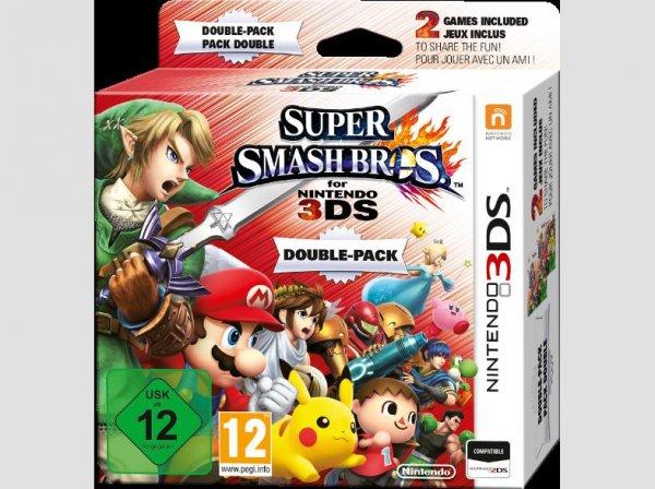[Saturn Österreich/Hamma Angebot]SUPER SMASH BROS DOPPELPACK Jump'n'Run Nintendo 3DS für 44,-€ + 7€ VSK...NUR HEUTE