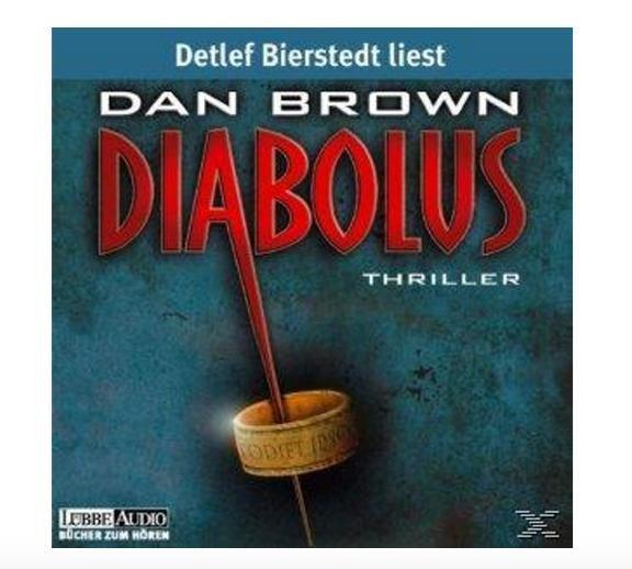 Dan Brown - Diabolus (Hörbuch CD) für 99 Cent @Saturn.de