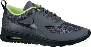 Nike Air Max Thea Print dark grey/black/volt Damenschuh