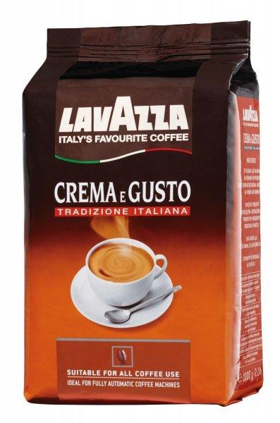 [Saturn] Lavazza Crema e Gusto Tradizione 1kg für 8,99€ inkl. Versand *** 4kg für 31€