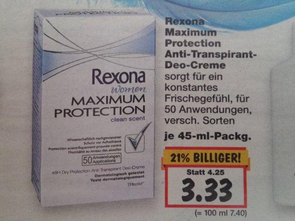 [lokal] Kaufland Rexona Maximum Protection