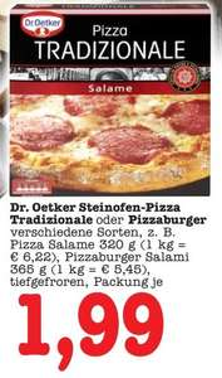 Edeka Südwest Ulm Dr.Oetker Pizzaburger 1,49€ (mit Oetker Coupon) Tiefstpreis! 1,99€ ohne Coupon