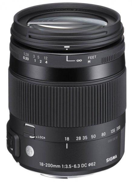 Sigma 18-200mm F3,5-6,3 DC Makro HSM Objektiv [Sony A-Mount] für 275,01 € @Amazon.co.uk