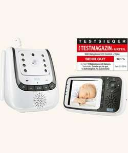 [Amazon.de - Blitzangebot] Babyphone mit Videofunktion NUK Eco Control plus Video