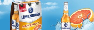 [LOKAL]Löwenbräu Grapefruit 6x 0,33 für 0,99€ bei Trinkgut Nettetal