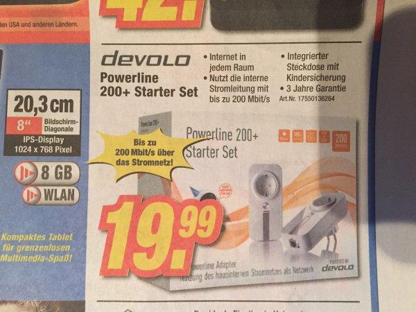[Expert] (lokal) Devolo Powerline 200+ Starter Set