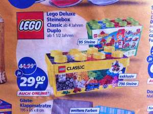 [Real] - LEGO ® Duplo 10580 Deluxe Steinebox