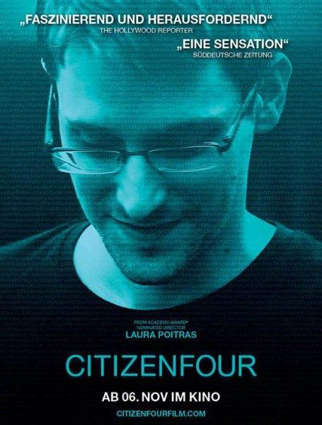 Citizenfour HD+SD: Oscar-prämierte Doku über Edward Snowden gratis zum Download