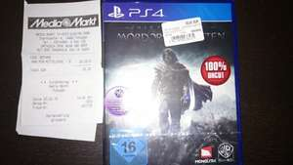 [Lokal MM Potsdam Stern Center] PS4 Mordors Schatten 20€