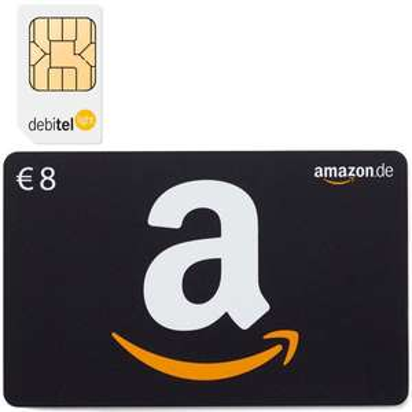 Debitel Light + 8 Euro Amazon Gutschein @eBay