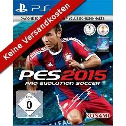 [PS4] Pro Evolution Soccer 2015 Day 1 Edition für 29,50€ VSK frei