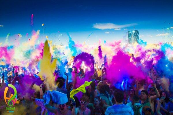 [GROUPON] 2 Karten inkl. 2 Farbbeuteln für das Holi Festival of Colours in verschiedenen Städten