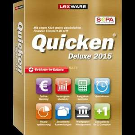 [ZackZack] Lexware Quicken Deluxe 2015 (DE) (Win) für 39,99€ Versandkostenfrei