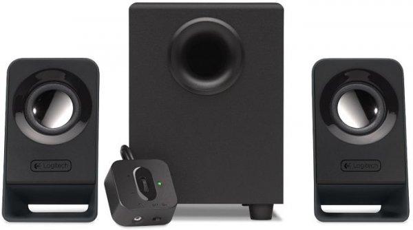 Logitech Z213 (2.1 Lautsprechersystem, Kabelfernbedienung) - 22,63€ @ digitalo.de