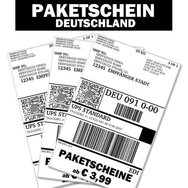 [123verschickt.de] günstiger Paketversand mit UPS bis 20kg für 4,50€