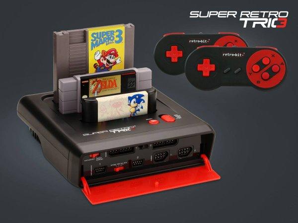 Super Retro Trio 3 in 1 Console