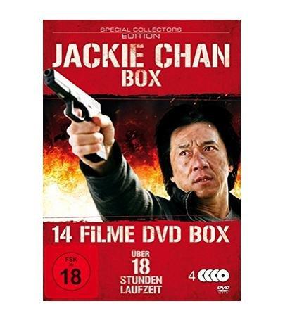 Jackie Chan Box - 14 Filme auf DVD für 6,99€ @Saturn