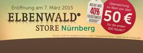 [ Nürnberg ] ELBENWALD 40% Rabatt für Kostümierte am 07.3., + für die ersten Überraschungstüte 50€ Wert