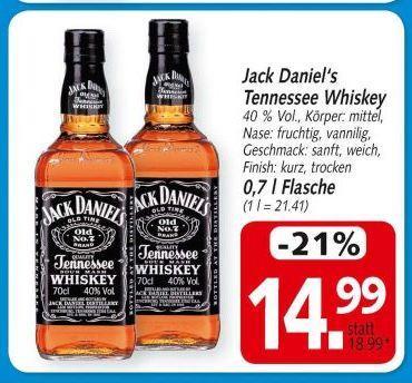 3x Miracoli + Oreo Kekse für 3,77  UND Jack Daniel's für 14,99 beim HIT