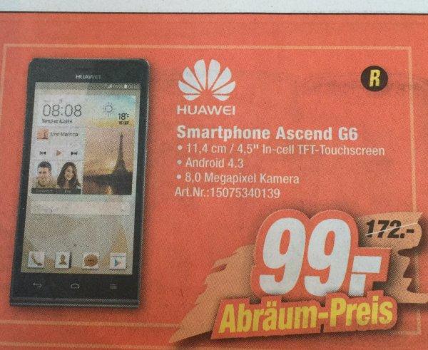[Lokal Expert Coesfeld und Ahaus] Huawei Ascend G6 für 99,- €, Idealo 139,- €