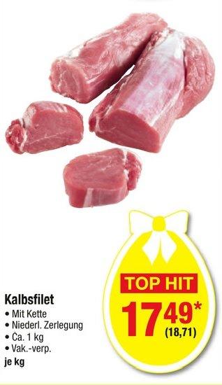 [Metro] Kalbsfilet frisch und Arg. Rinder Roastbeef ab 26.2.