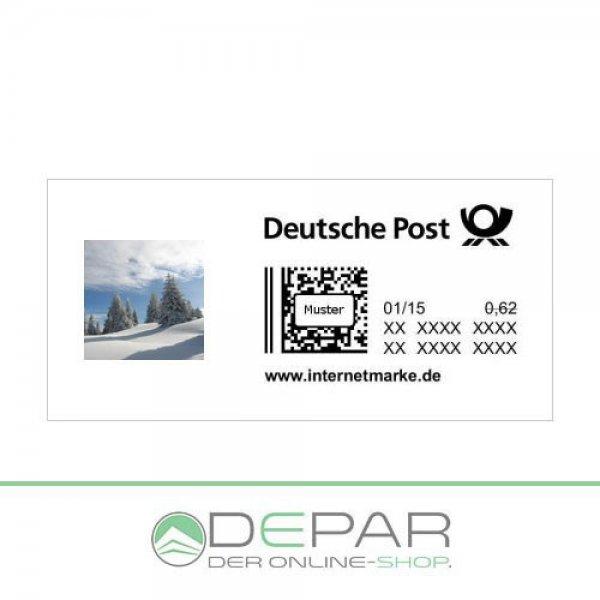 eBay 2 x 0,62€ Briefmarken für 1€ zum Ausdrucken