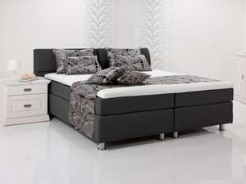 AMY Boxspringbett Bett Doppelbett schwarz, 318,90 EUR @ moebeleins