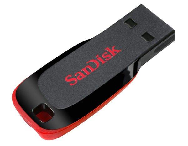 [ lOKAL und ONLINE] SanDisk Cruzer Blade 128GB USB-Stick schwarz / rot für 29€ // mediamarkt.de //