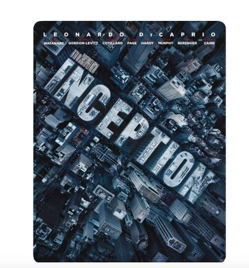 Inception Steelbook [Blu-ray] [Limited Edition] für 11€ bei Saturn