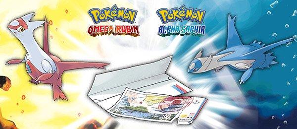Äon-Ticket um Latias oder Latios zu fangen (Pokémon Omega Rubin/Alpha Saphir)