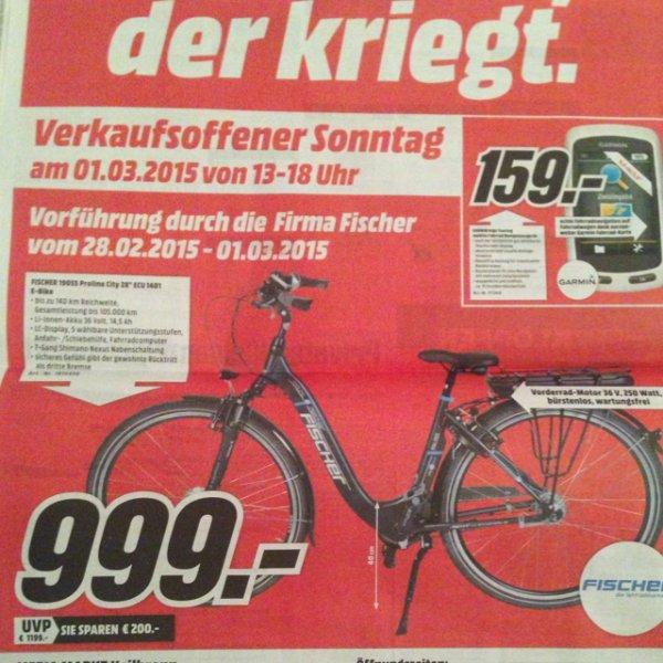 Fischer e-bike @MM Heilbronn (Lokal?)
