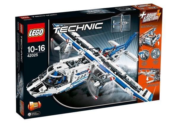 Lego Angebote bei Thalia: Güterzug 124,94€/ Frachtflugzeug 84,99€ / Hochgeschwindigkeitszug 84,99€ / Abschlepptruck 76,49€ / Baustellenset 42,49€