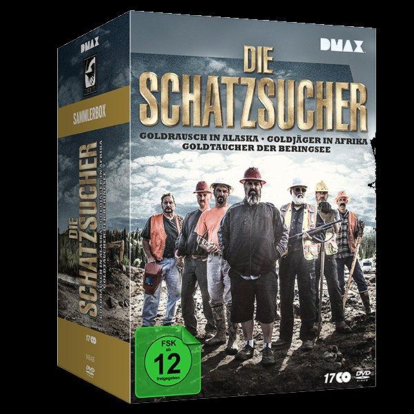 *Amazon* Die Schatzsucher - Goldrausch - Sammler-Box [19 DVDs]