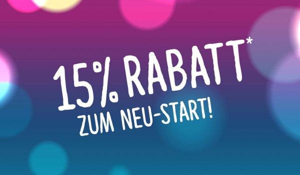 [Lokal Ulm] 15% auf alle Shops im Blautalcenter Müller, Tchibo, VMarkt... nur am 28.02.