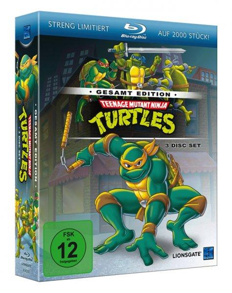 [Media-Dealer.de] Teenage Mutant Ninja Turtles – Gesamtedition [Blu-ray] für 35€