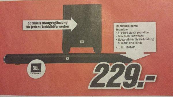 [Media Markt Neuss] JBL SB 350 Cinema Soundbar kabellos 320 Watt