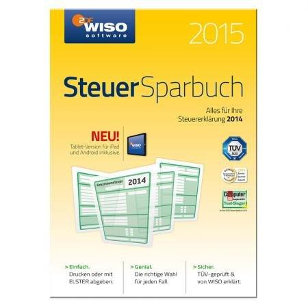 Buhl™ - WISO Steuer-Sparbuch 2015 (für Steuerjahr 2014) für €17,99 [@Redcoon.de]