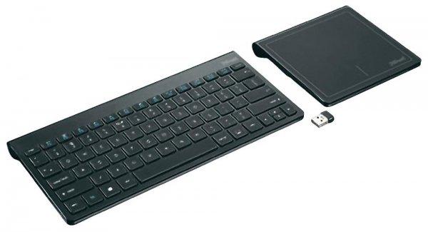 Trust Funk Tastatur Skid mit Touchpad für 24,99€ inkl. VSK