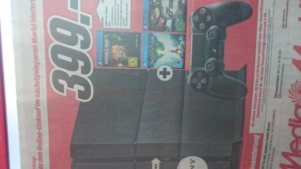 [MM] PS4 + 3 Spiele nur 399€ - lokal Neuss