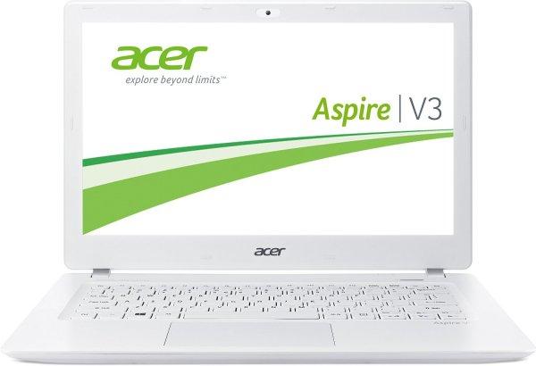 Acer Aspire V3-371-58GA 33,7 cm (13,3 Zoll Full HD) Notebook (Intel Core i5-4210U, 1,7GHz, 8GB RAM, 240GB SSD, Intel HD 4400, Win 8.1) weiß für 599€