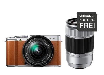 Fujifilm X-M1 inkl. XC 16-50 und 50-230 mm Objektiv für 444€ @Saturn.de