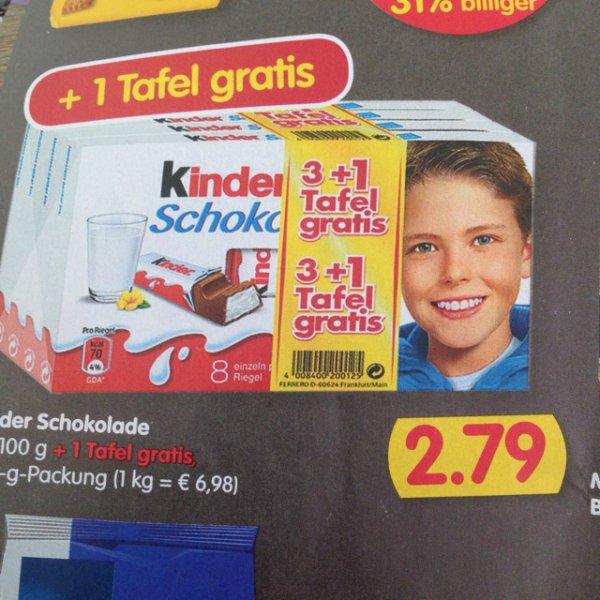 [treff 3000] Kinderschokolade