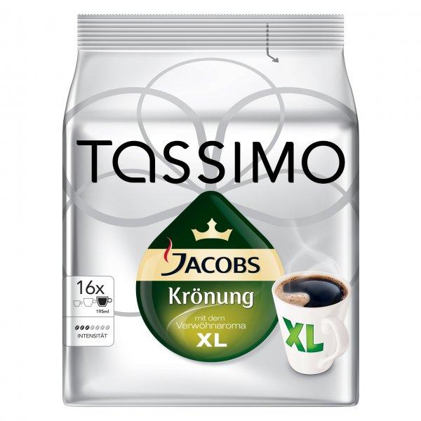 [Simplora] 8 x Jacobs Tassimo Krönung XL Kaffee 13.51€ / 1,69€ pro Stück