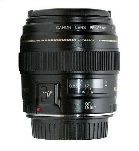 Canon EF 85mm f1.8 USM Objektiv