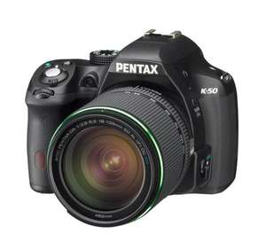 Pentax K-50 Kit 18-135 mm Neu: 565€ WHD: ab 514€ @Amazon.fr