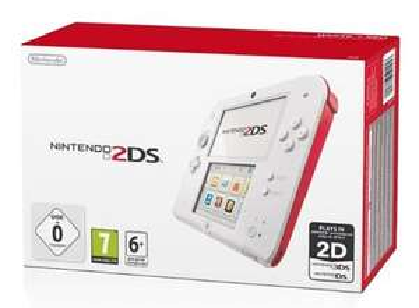 Nintendo 2DS Konsole (Rot) für 72,88€ @Amazon.co.uk
