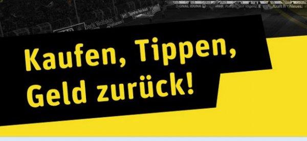 [Rewe-Dortmund] Wieder da - Kaufen Tippen Geld zurück bei BVB-Heimspielen
