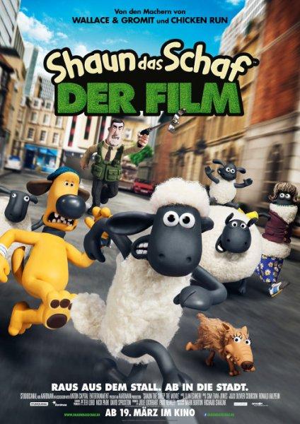 Kostenlos ins Kino zu Shaun das Schaf (Gewinnspiel von Moviepilot) in Berlin, Hamburg, München