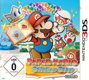 Paper Mario: Sticker Star (Nintendo 3DS, 2012) für 29,99€  @ebay.de (gametitan_de 100% positive Bewertungen)