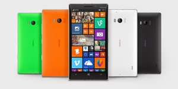 Nokia Lumia 730 [Dual Sim] - grau, orange, grün - 169€